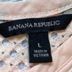 Banana Republic Tops - Banana Republic Boxy Cut Eyelet Top